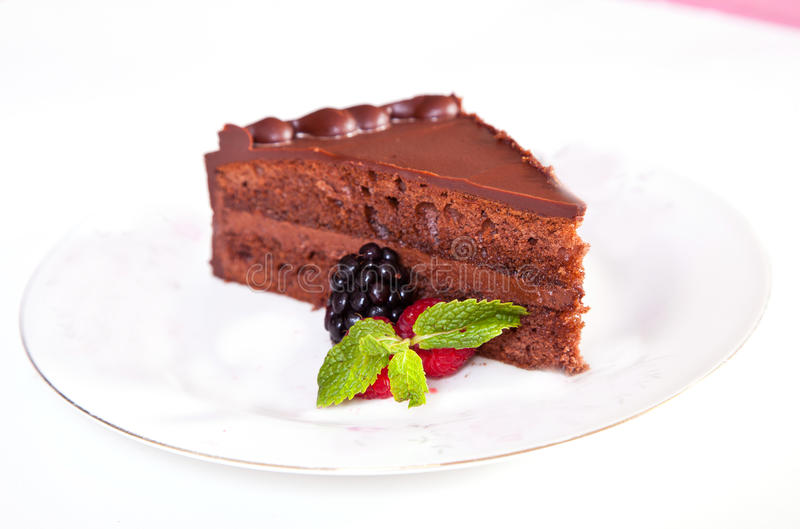 Download Chocolate Mousse Cake Royalty Free Stock Photos - Image: 27322558