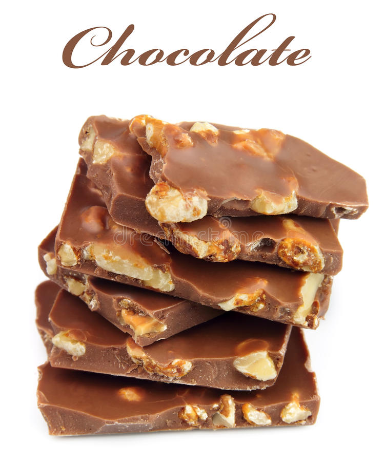 Download Chocolate With Nuts Stock Photo - Image: 23503110
