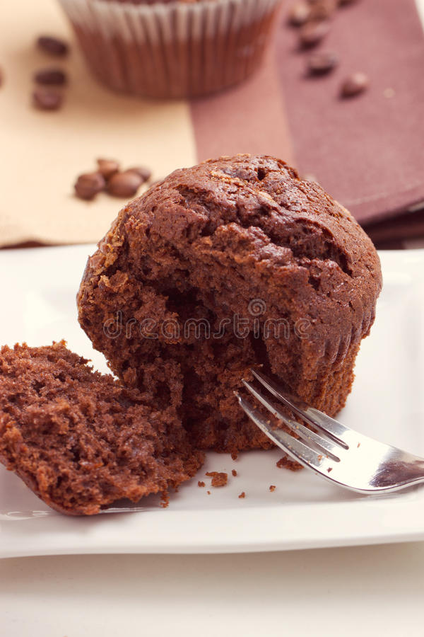 Download Chocolate Oat Bran Muffins Stock Photo - Image: 38406810