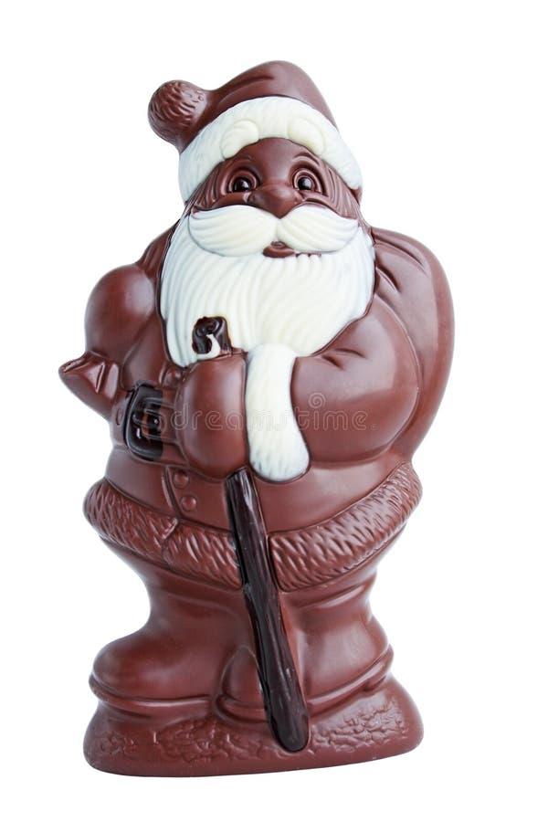 Chocolate Papá Noel imagen de archivo libre de regalías