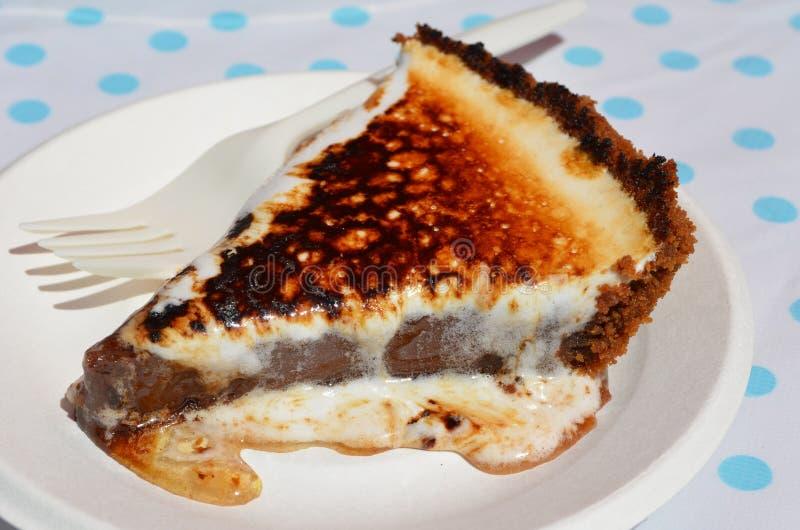 chocolate pie photos libres de droits
