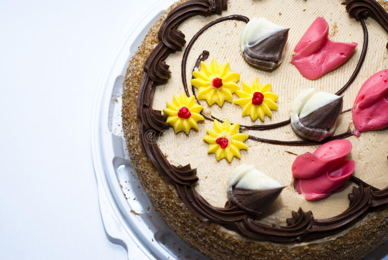 Chocolate pie royalty free stock images