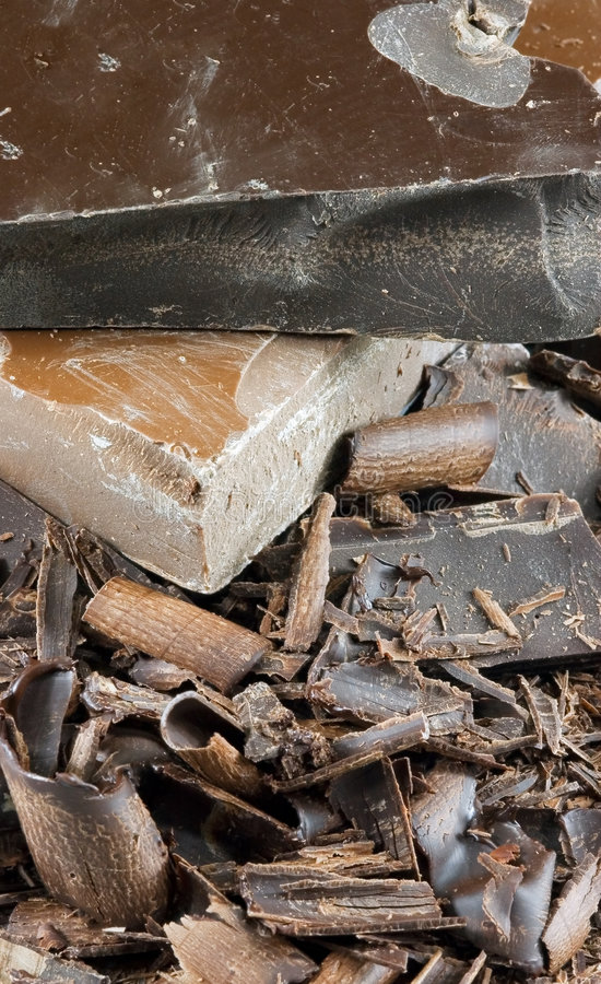 Chocolate Pile Three royalty free stock images