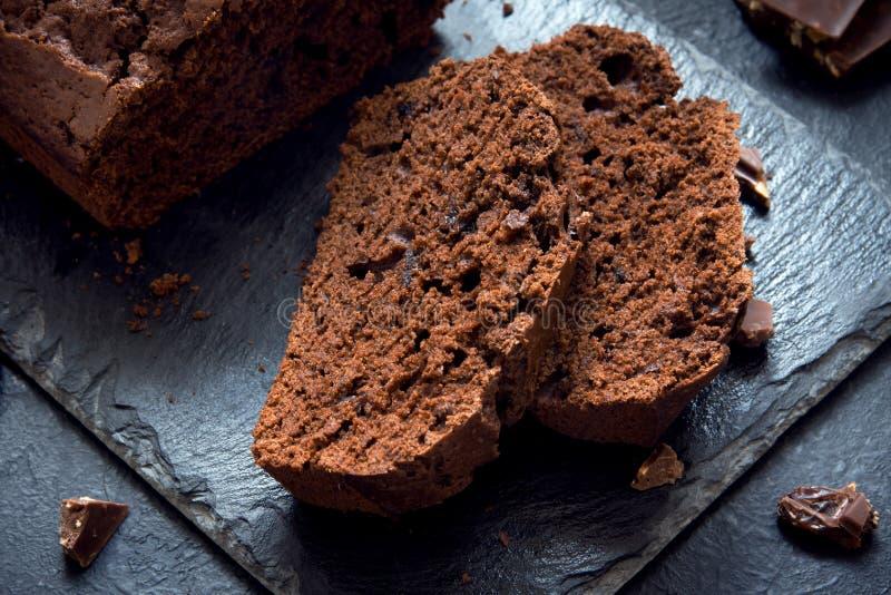 Chocolate Pound Cake stock photo