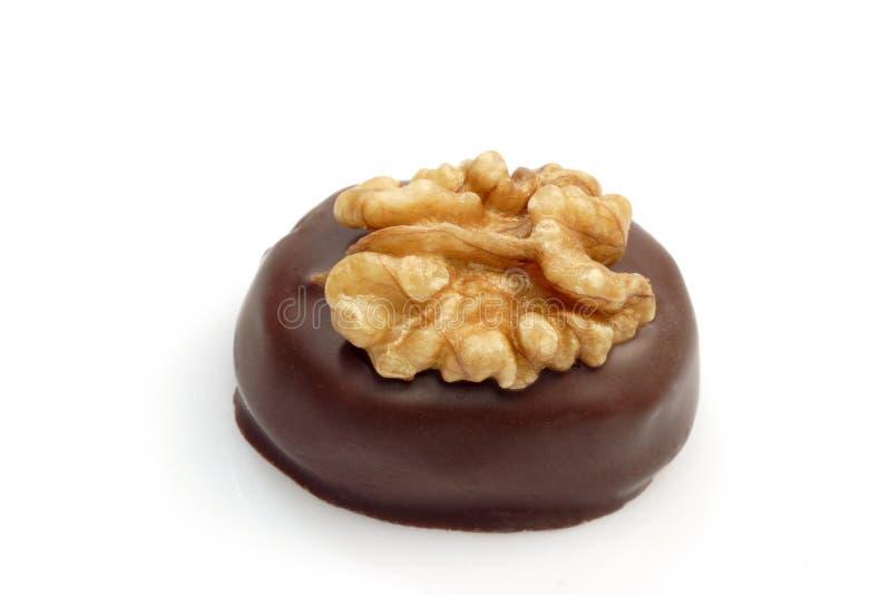 Chocolate praline stock image