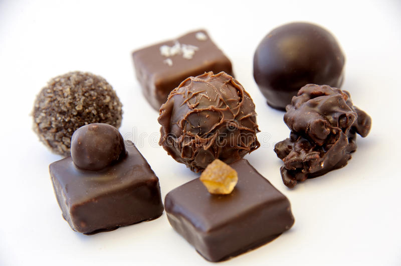 Download Chocolate pralines stock image. Image of caramel, different - 28700367