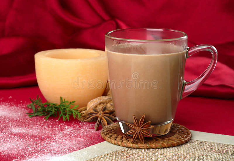 Chocolate quente imagem de stock royalty free