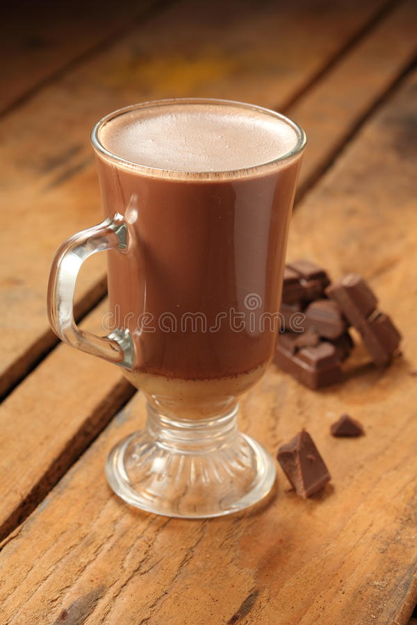 Chocolate quente foto de stock