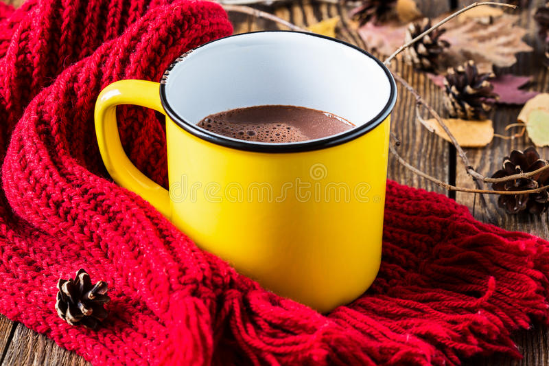 Chocolate quente imagens de stock royalty free