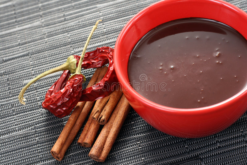 Chocolate quente foto de stock royalty free