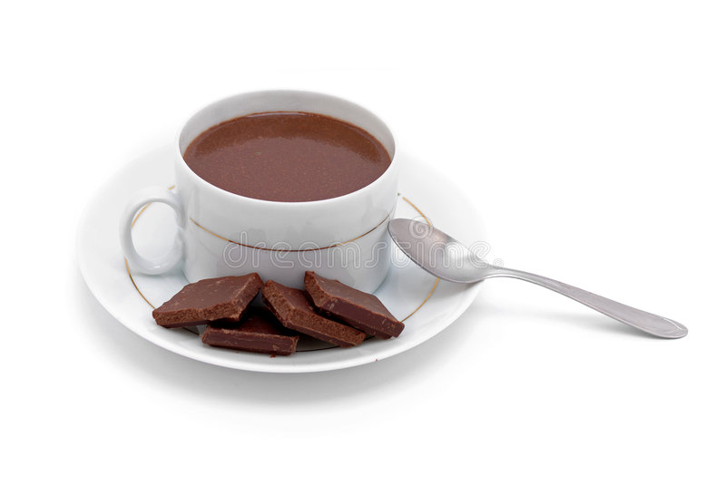 Chocolate quente fotos de stock royalty free