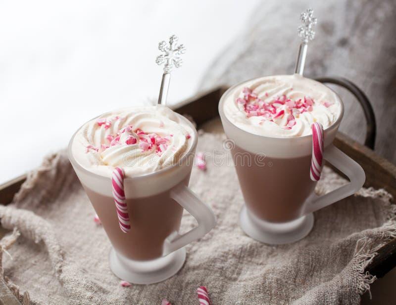Chocolate quente foto de stock