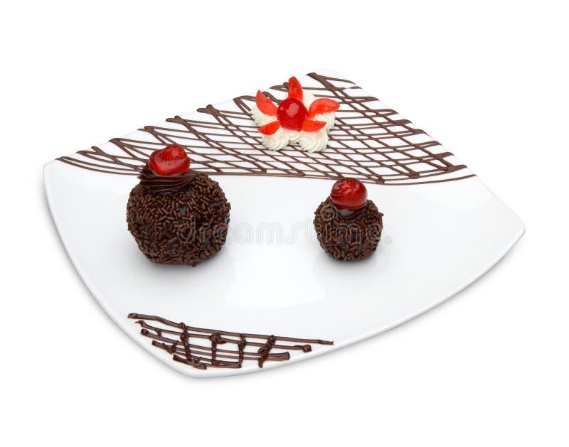 Download Chocolate Rum Balls stock photo. Image of eaten, food - 10494920