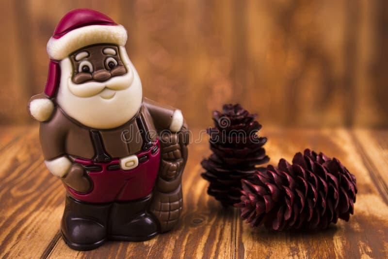 Download Chocolate Santa Claus Stock Photo - Image: 83724642