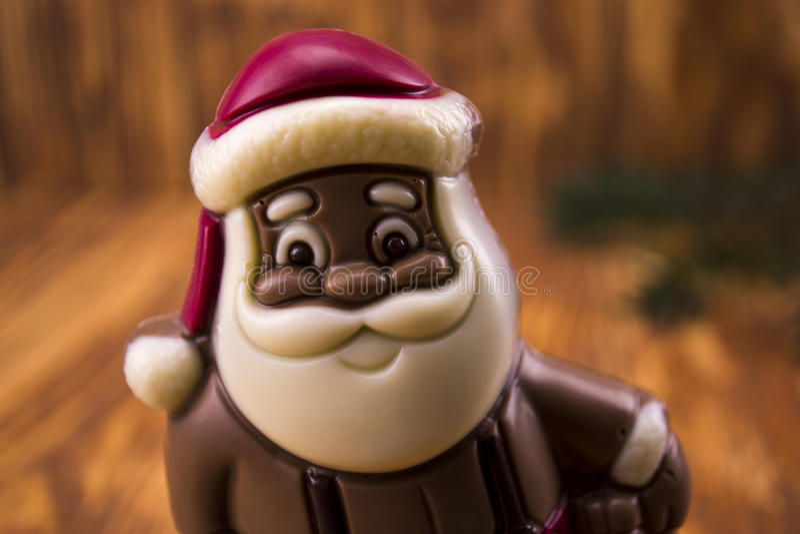 Download Chocolate Santa Claus Stock Photo - Image: 83724487
