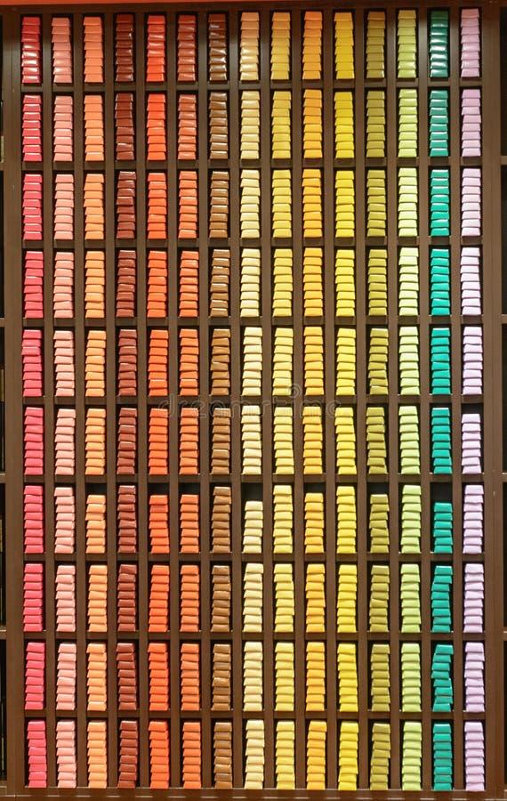 Chocolate show Salon du chocolat stock photography