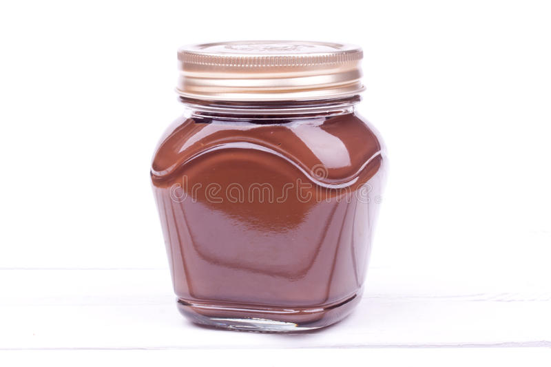 Chocolate spread royalty free stock images