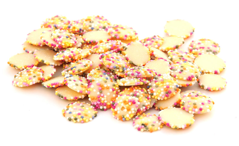 Chocolate Sprinkle Sweets Stock Photography