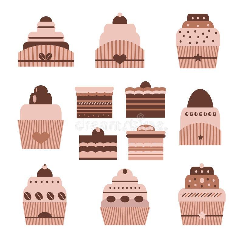 Chocolate sweets6 ilustração royalty free