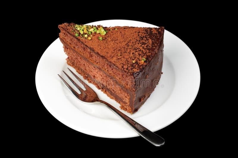 Chocolate tart royalty free stock photos