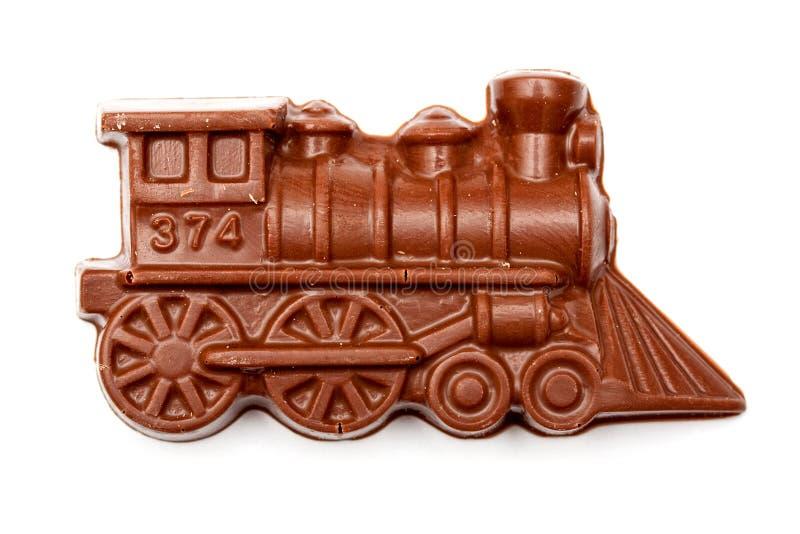 Download Chocolate train stock photo. Image of white, food, engine - 12338020