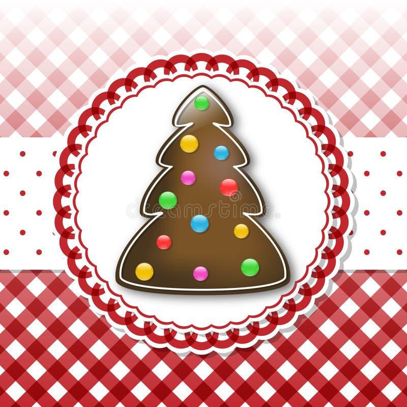 Chocolate tree royalty free illustration