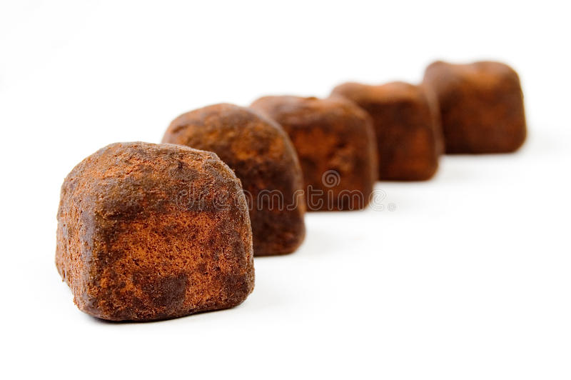 Download Chocolate truffles stock image. Image of romantic, tasty - 13192761