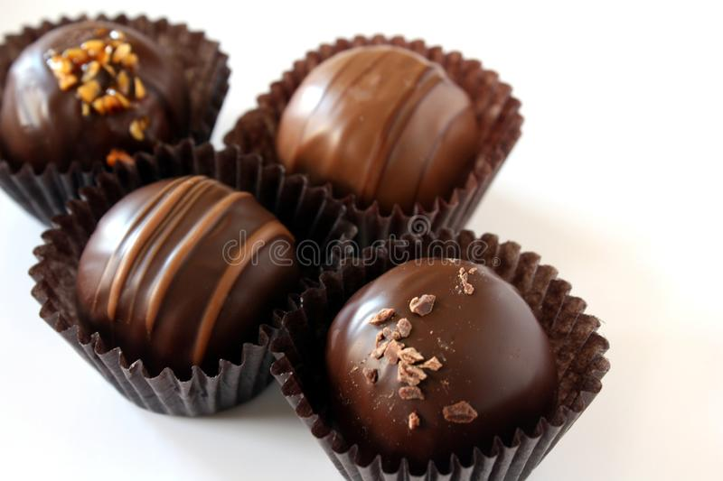 Download Chocolate Truffles stock image. Image of milk, truffles - 20194371