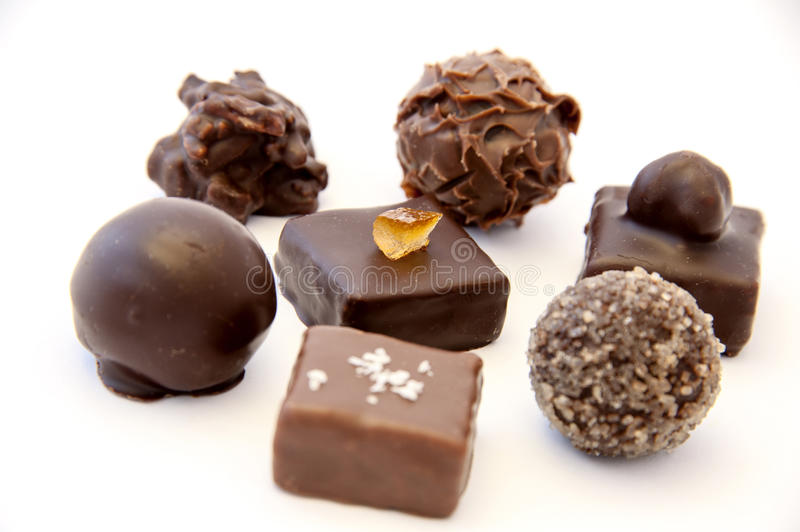 Download Chocolate truffles stock photo. Image of covered, assortment - 28700334