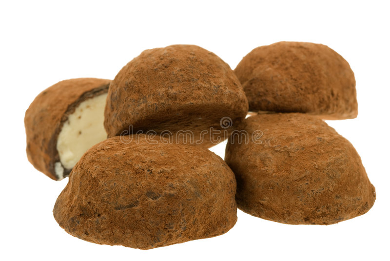 Download Chocolate truffles stock image. Image of decorative, belgium - 5373273