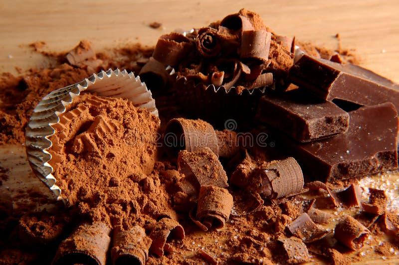 Chocolate V imagens de stock
