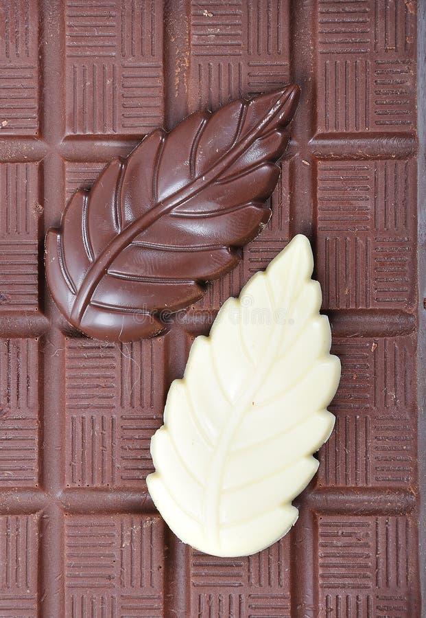 Chocolate, vector, pedazos fotos de archivo libres de regalías