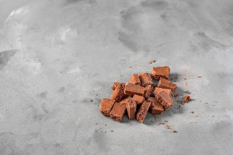 Chocolate ventilado imagem de stock royalty free