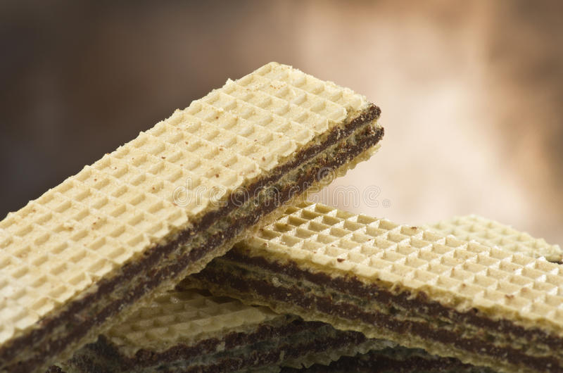 Download Chocolate wafer stock photo. Image of brown, background - 24934676
