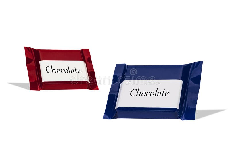 Download Chocolate Wraped In Colorful Foil Stock Image - Image of detail, sweets: 83721639