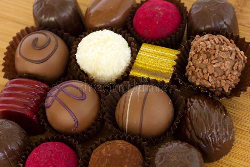 chocolated cukierki zdjęcie royalty free