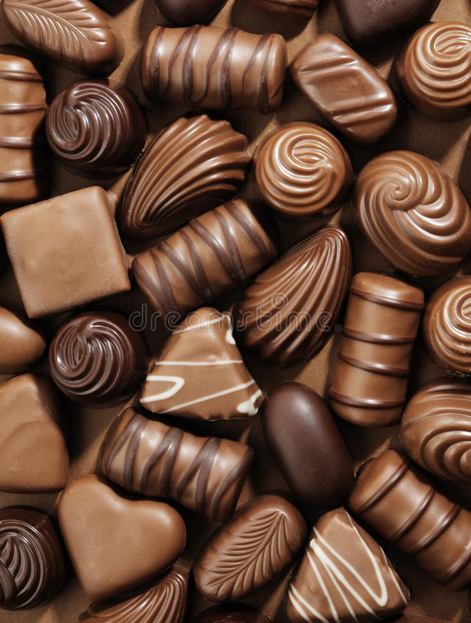 Download Chocolates stock image. Image of food, assorted, sweet - 11793187