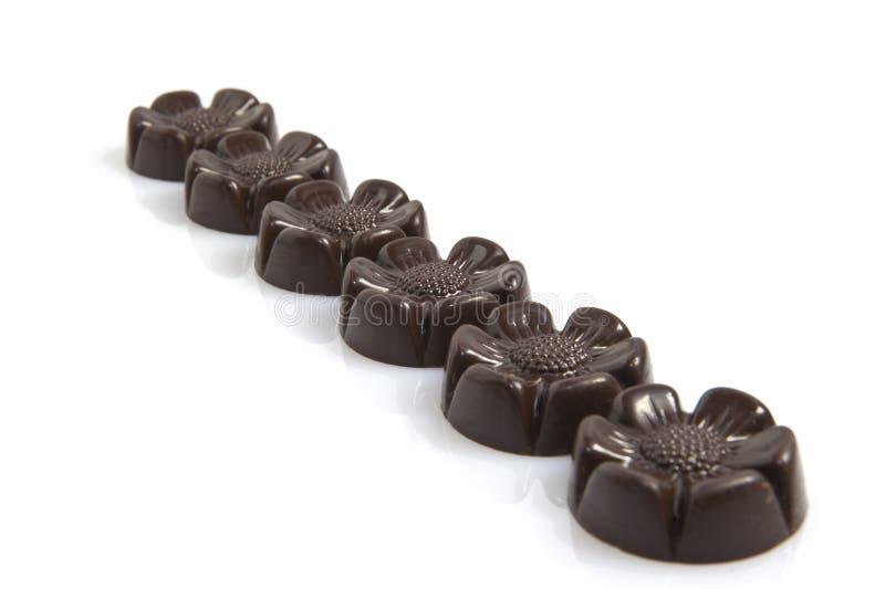 Chocolates imagen de archivo