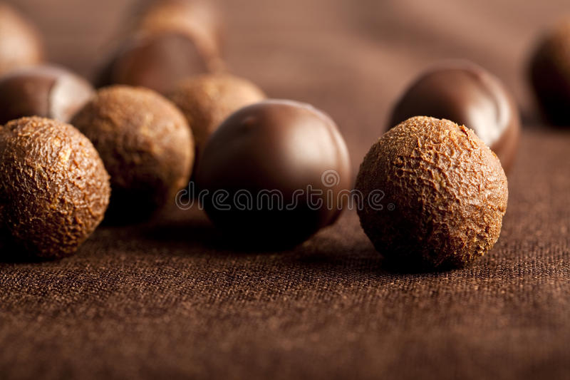 Chocolates. Food, gastronomy,culinary,cookery royalty free stock images