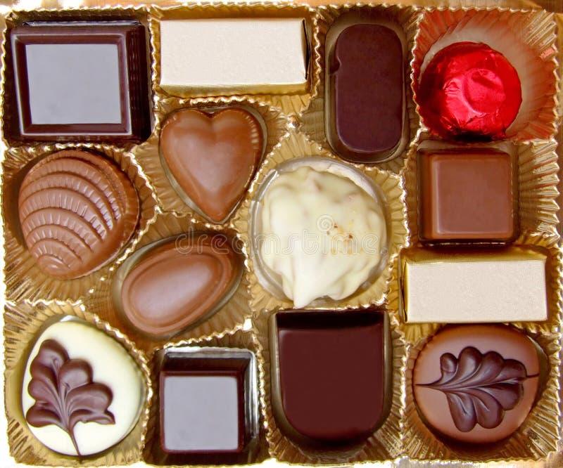 Chocolates fotos de stock royalty free