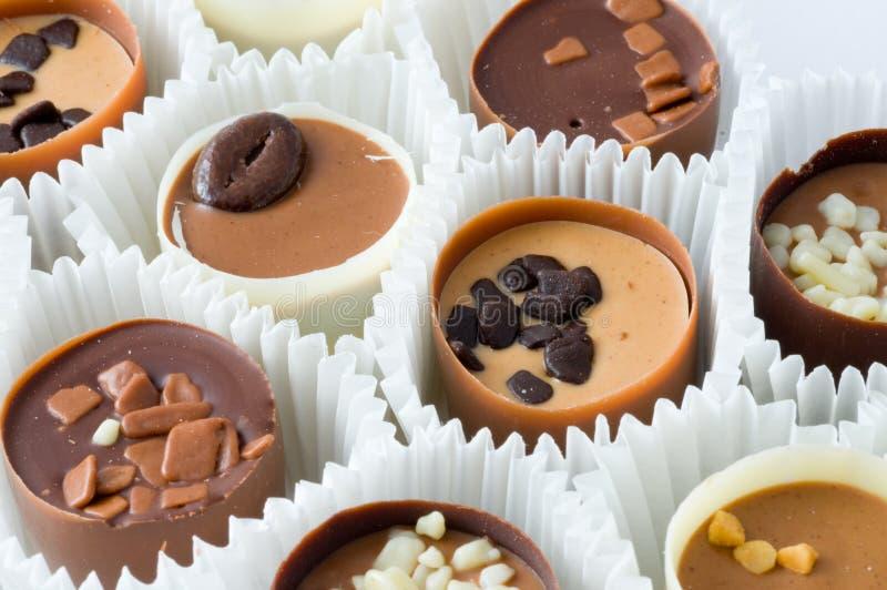 Chocolates imagen de archivo libre de regalías