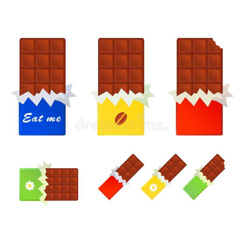 Chocolates ilustração royalty free