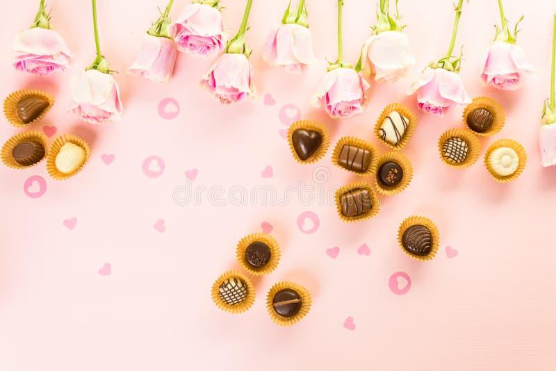 chocolates fotos de archivo libres de regalías