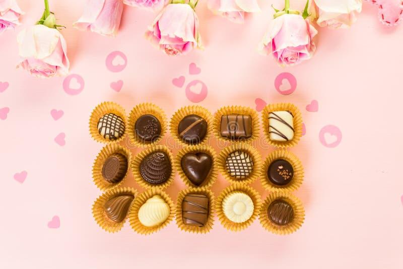 chocolates imágenes de archivo libres de regalías
