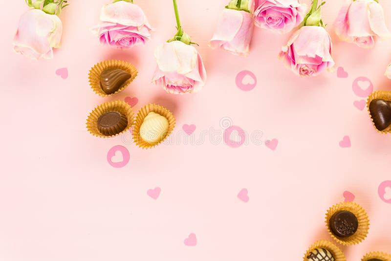 chocolates fotografía de archivo