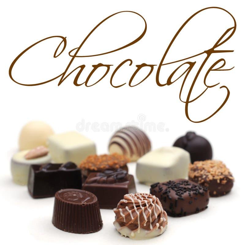 chocolates fotografia de stock royalty free