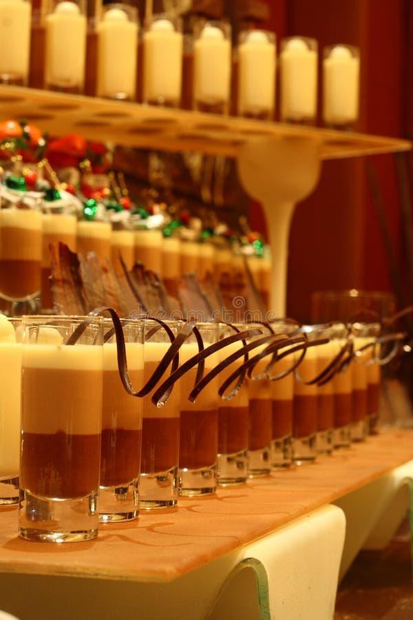 chocolates christmas drinks στοκ εικόνες