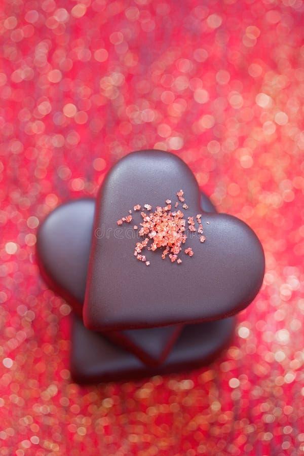 Free Chocolates Heart Royalty Free Stock Photo - 22474255