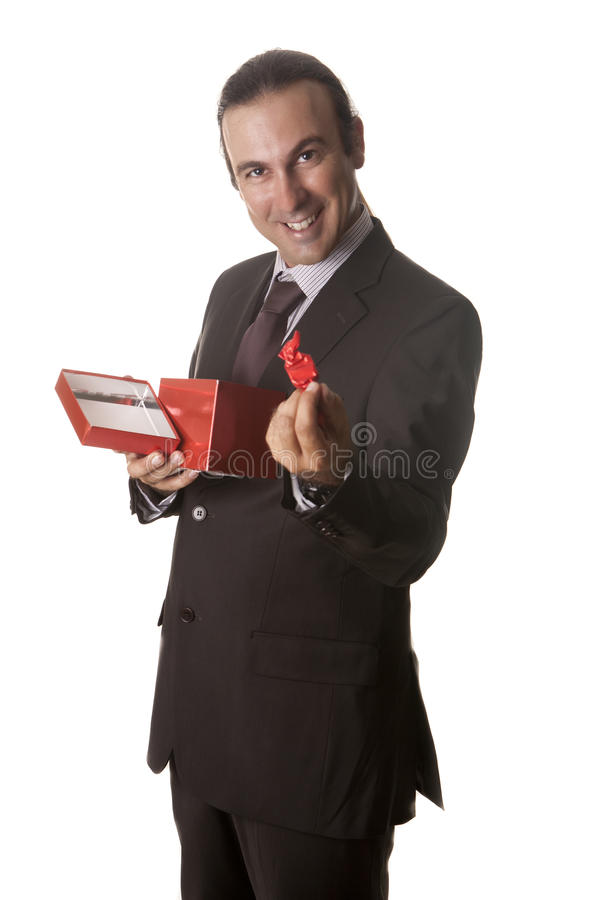 Download Chocolates love stock image. Image of surprise, handsome - 26259461