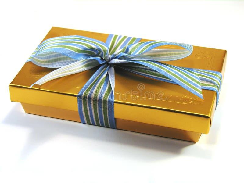 Chocolates na caixa. foto de stock royalty free